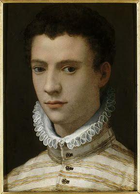 Anonyme, Florence (vers 1570) : Portrait de jeune homme.