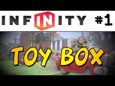 ▶ Disney Infinity Toy Box #1 - LET'S BUILD A RACETRACK! (1080p) - YouTube
