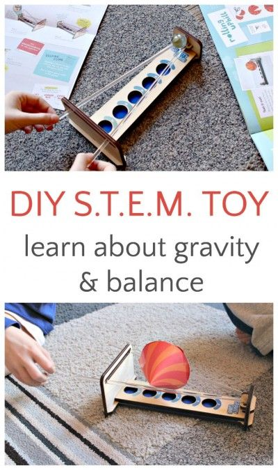 Build and play this classic gravity game for DIY STEM fun.