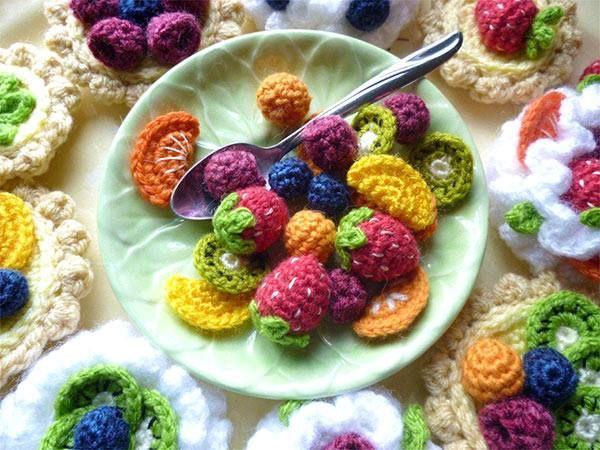 Amigurumi Fruit Crochet Patterns : crochet fruit Crochet Food Pinterest