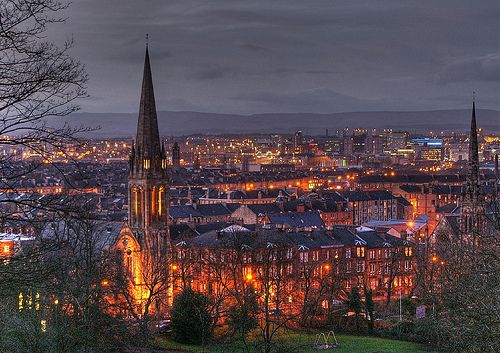 Glasgow, Scotland - home for the next year, baby!