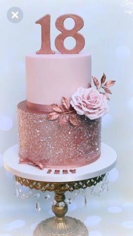 Pin By Kim Kambron Jones On The Art Of Cake In 2019 18th Birthday