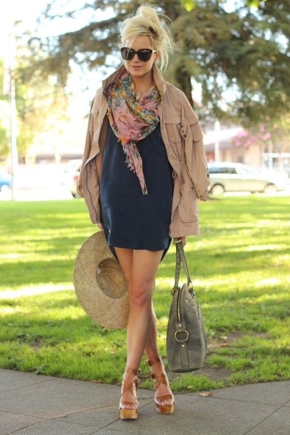 : Shoes, Messy Hair, Style, Dresses, Jackets, Summer Outfits, Scarves, Scarfs, Summer Clothing