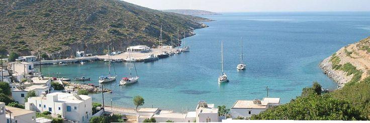 Port of Agathonisi panoramaview