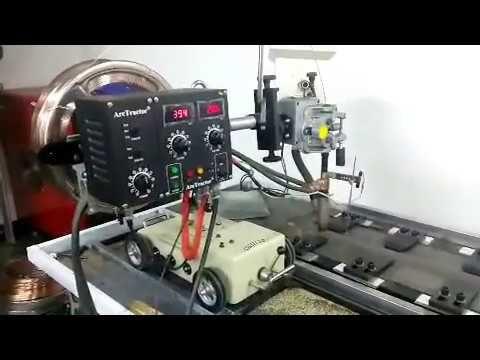 Submerged Arc Welding - YouTube