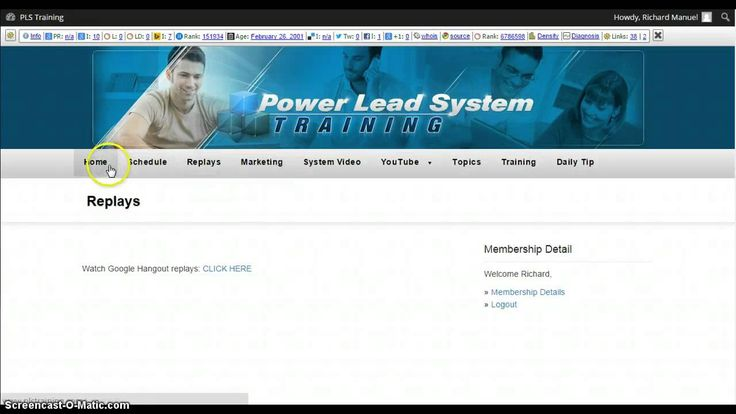 Power Lead System Review 26/03/15