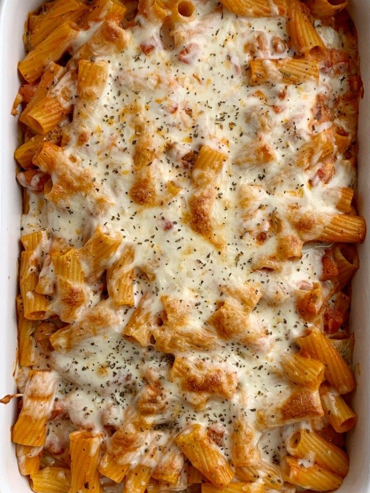 Pasta Bake With Ziti Pasta Noodles Mozzarella Cheese Cream Cheese Jarred Spaghetti Sauce Diced Tomatoes And Seasonings Comes Ziti Pasta Pasta Bake Pasta