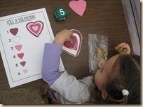 * Spel voor 4 kinderen wie heeft er als eerste zijn/haar hart?!