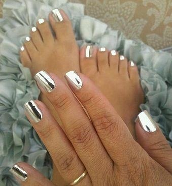 9 Best Silver Jamberry Nail Wraps Images On Pinterest