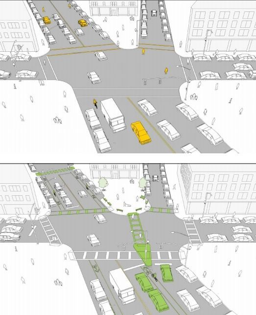 A Before-and-After Guide to Safer Streets - Eric Jaffe - The Atlantic Cities