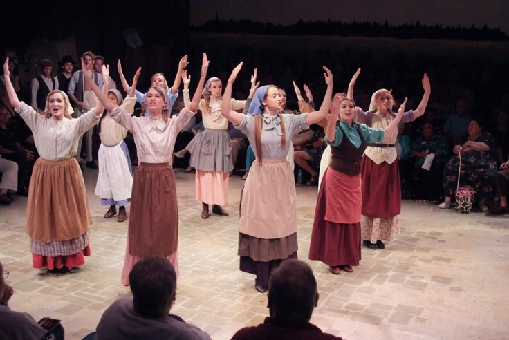 The mothers and daughters from Fiddler on the Roof.