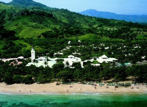 All Inclusive Riu Merengue Hotel /Resort in Puerto Plata Dominican Republic. - Aerial View