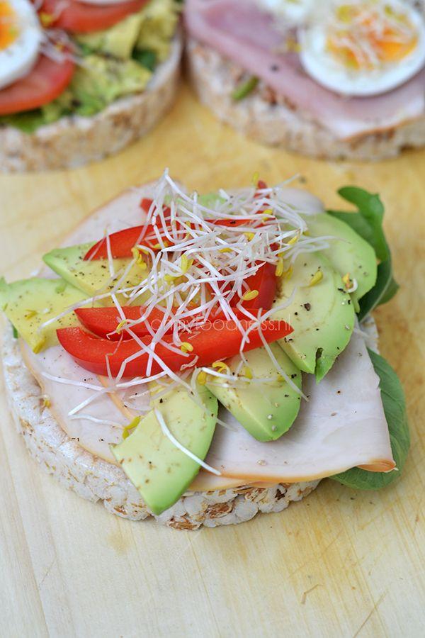 Super Healthy Sunday: 3x rijstwafels als lunch - OhMyFoodness