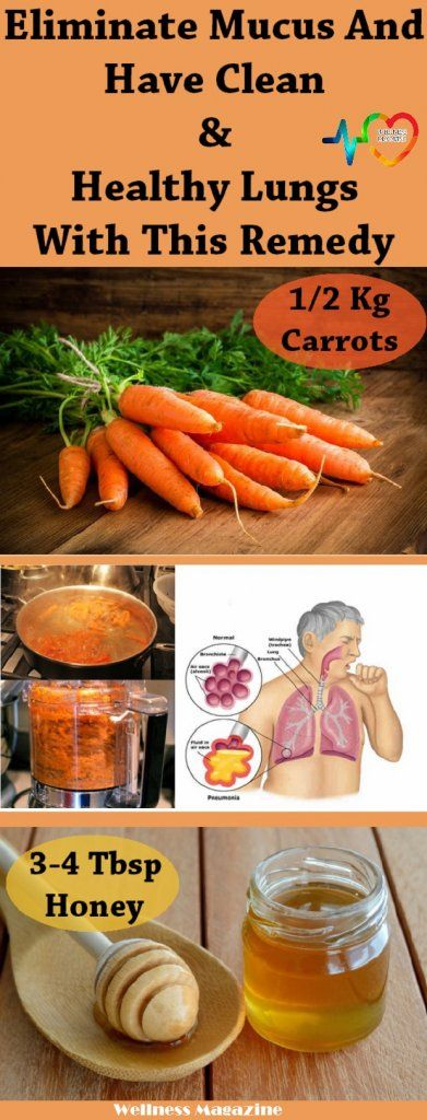 If you have a problem with mucus in your lungs, there is a way you can treat it.