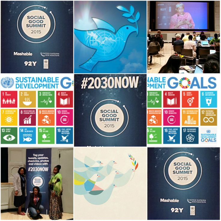 """Our theme, #2030NOW, asks the question, ""What type of world do I want to live in by the year 2030?"" During the Social Good Summit, global citizens around the world unite to unlock the potential of..."