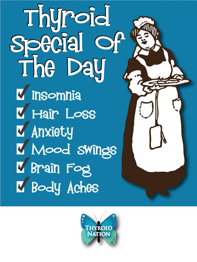 Today's Thyroid Special with a side of irritation and crazy....  #UnitedWeHeal Hypothyroid, Hyperthyroid