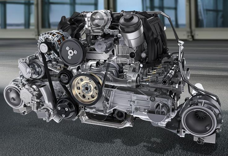 Porsche 911 991 GT2 RS engine