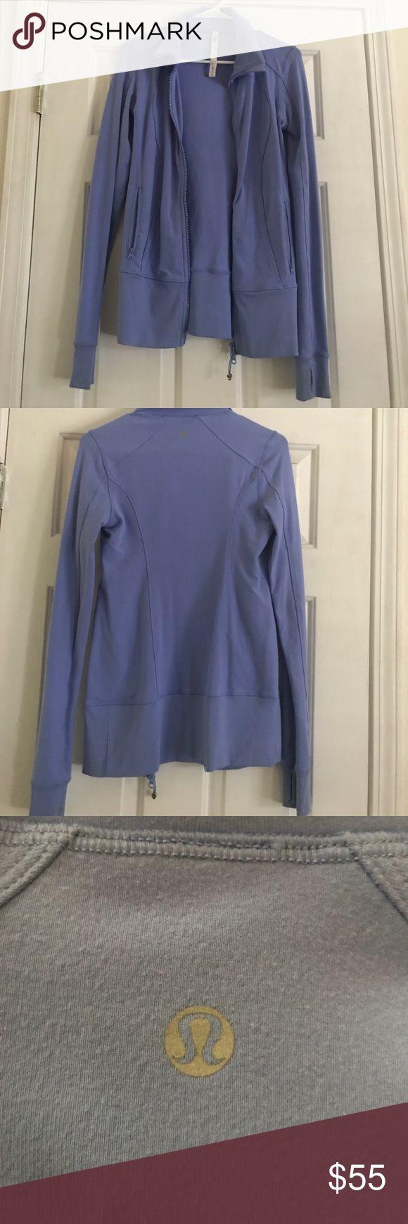 Lululemon Hoodie Double zip lululemon hoodie.  Hardly worn Sz 4 lululemon athletica Tops Sweatshirts & Hoodies