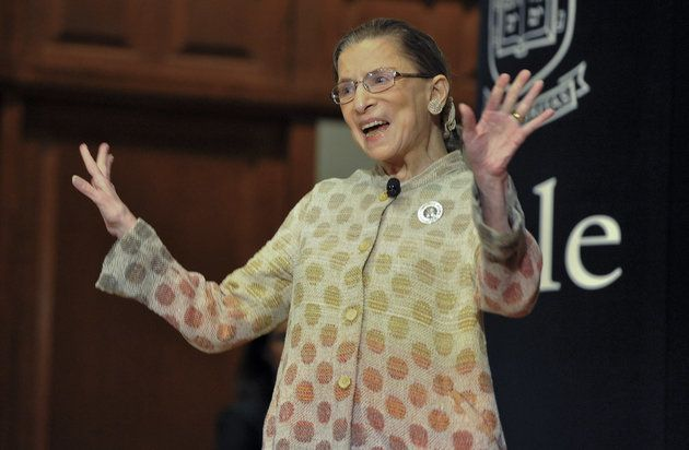 Ruth Bader Ginsburg Inspires Rush To The Dictionary For 'Faute De Mieux'
