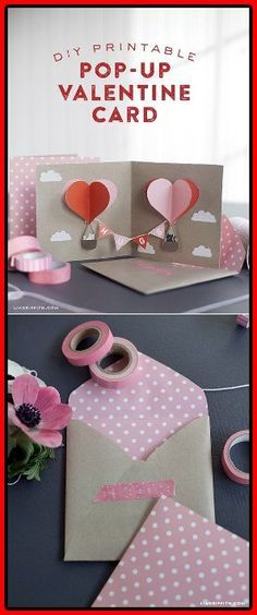 15 Bastelarbeiten Zum Valentinstag Craft Ideas Pinterest Craft
