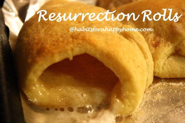 Resurrection Rolls - recipe and accompanying verses