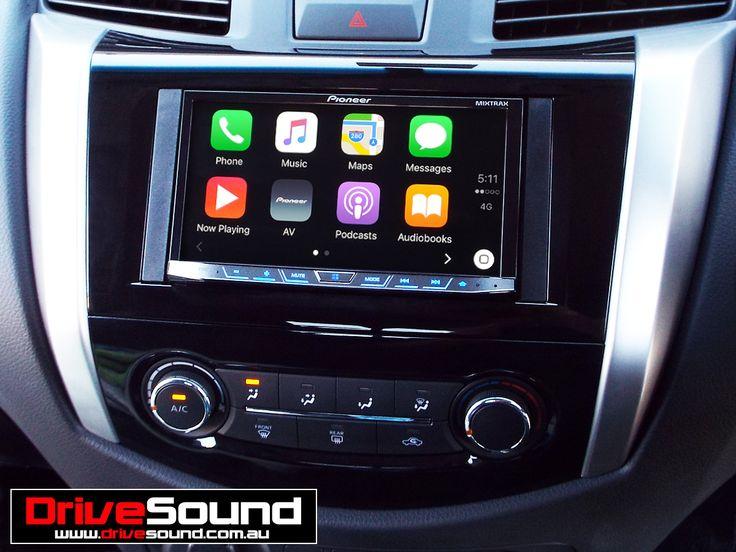 2015 Nissan NP300 Navara with Apple CarPlay installed by DriveSound. | Apple CarPlay | Pinterest ...