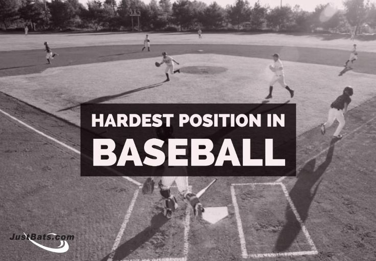 What is the hardest position in baseball?