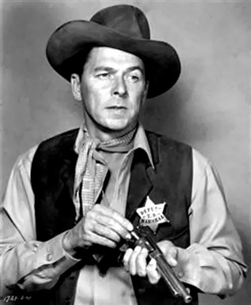 Ronald Regan: Cowboy - Actor - Politician, yahoooooo / Recent images by @RSutter