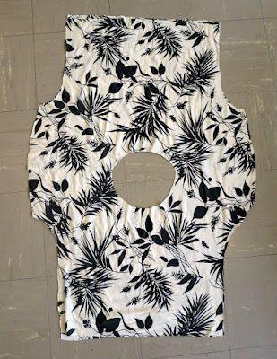 kimono style shirt pattern.  Want to try.