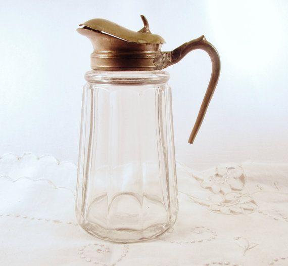 c1800 Victorian Carafe Pitcher Syrup by SunburyVintageStore, $8.00