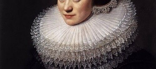 closer view multiple lace layer collar | Elizabethan/Tudor ...