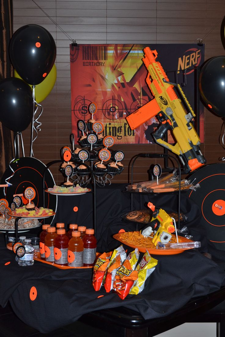 My sons nerf birthday party.. it was a blast.