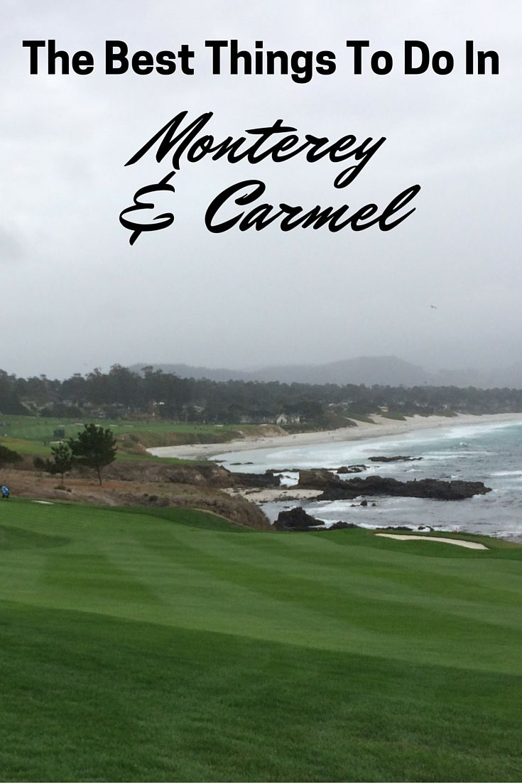A guide of things to do in Monterey and carmel. The sights to see, places to stay, where to eat and what to do. The best of the Monterey region.