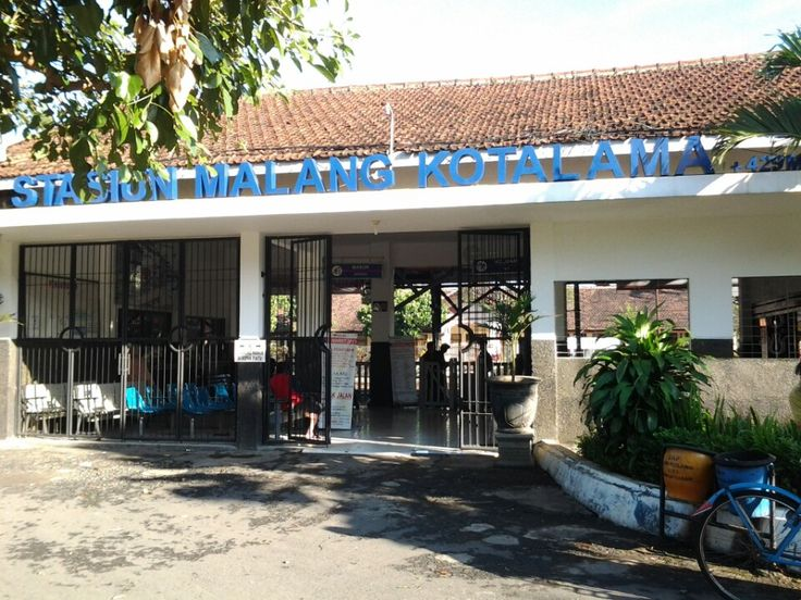 Stasiun Malang Kotalama in Malang, Jawa Timur
