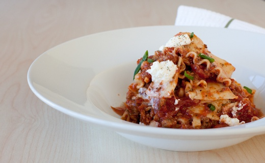 Lazy Lasagna. Welcome dinner guests with this deliciously easy, veggie-friendly lasagna.