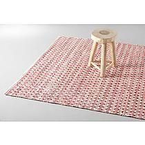 vloerkleed (wol)   (160x230 cm) Rood/offwhite