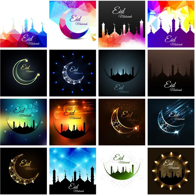16 Design Eid Mubarak Greeting Cards 2017 New Wallpaper Vectors  http://www.cgvector.com/50-vector-graphics-eid-greeting-card-and-wallpaper/