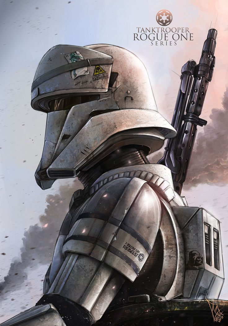 ArtStation - The Tank Trooper (Commander) - ROGUE ONE FANART, Shane Molina