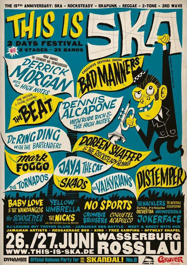 This Is Ska Festival 2015 @ Rosslau, Germany