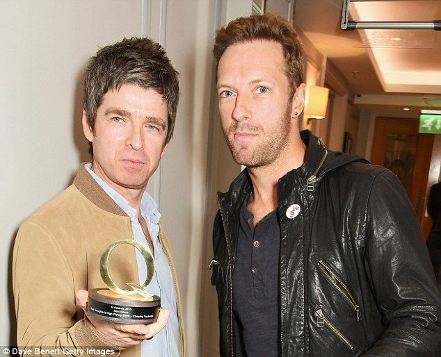 'I'd like to thank my producer - who was me, you were f**ing brilliant.': On receiving his Best album price at Q Awards