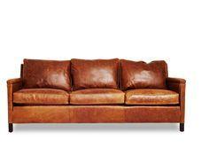 Leather Sofa  check