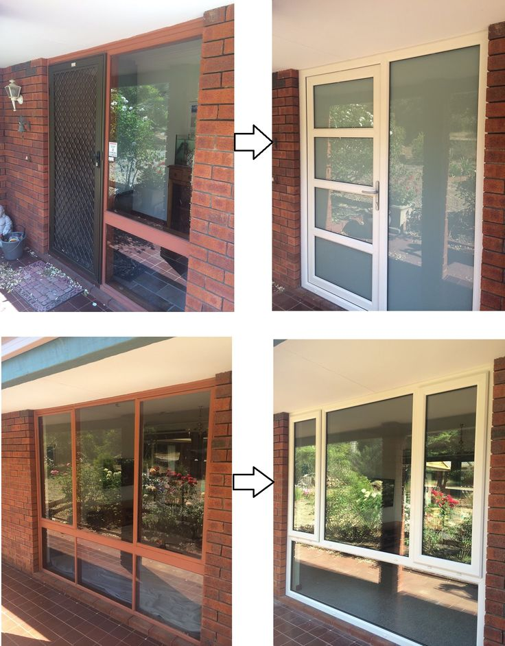More before and after pictures, Front door and side panel replaced along with windows on the front of the property. let us replace your old windows and doors with our Affordable Double Glazing.  FREE Quotes 1800 822 207 #upvcwindows #upvcdoors #Perth #WA #ADG