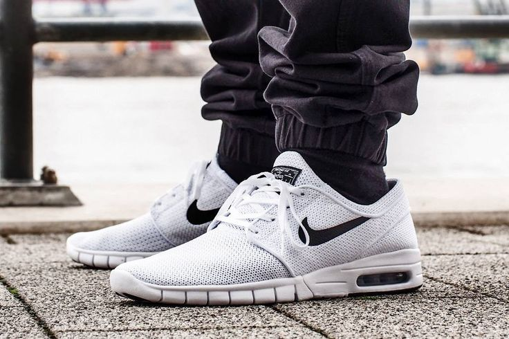 Nike SB Stefan Janoski Max: White/Black | Kicks for the streets | Pinterest  | Stefan janoski and Nike SB