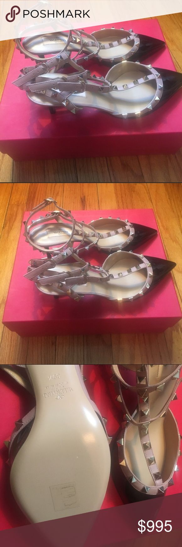 Valentino Rockstud Pumps BRAND NEW!!! These shoes are $1100 including tax and they do not go on sale! ALL LOWBALL OFFERS WILL BE IMMEDIATELY DECLINED. Valentino Shoes Heels