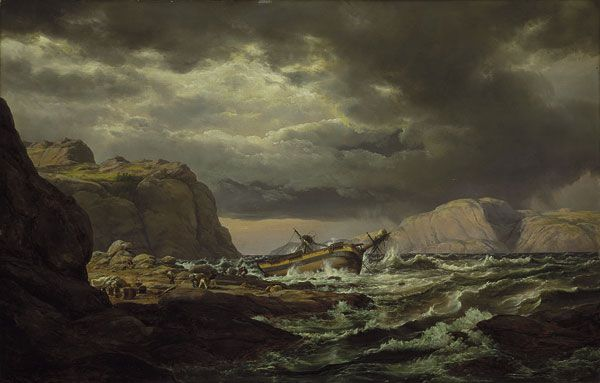 Shipwreck on the Coast of Norway, 1832