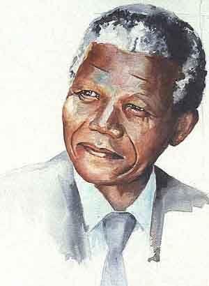 """Nelson Mandela """"Eu sou o capitão da minha alma."""""""