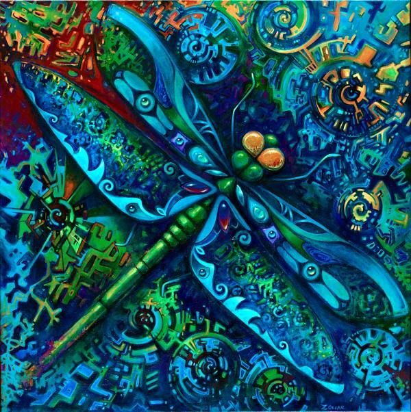 Dragonfly by Laura Zollar http://www.laurazollar.com/#homeColors Pallets, Blue Dragonflies, Blue Green, Beautiful Quilt, Laura Zollar, Dragons Fly, Peacocks Colors, Bold Colors, Dragonflies Art
