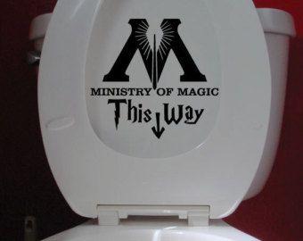 Autocollant Ministère de la Magie - Déco Harry Potter