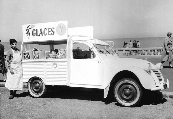 2 CV ''marchand de glaces'' • citroen 2CV