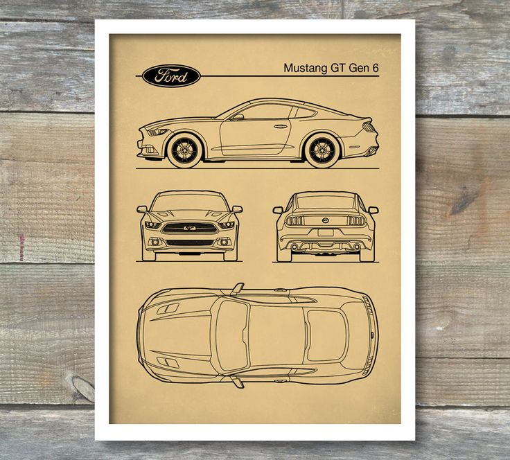 The 205 best patent art posters images on pinterest art posters patent print ford mustang blueprint ford mustang poster auto art sports car malvernweather Gallery